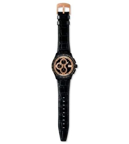 Swatch Herren-Armbanduhr Right Track Sunset Automatik-Chrono SVGB402