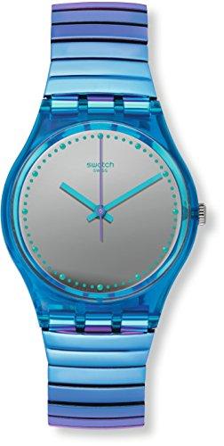 Swatch Damenuhr Flexicold S mit Zugband GL117B
