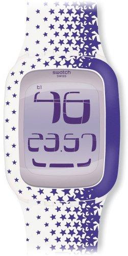 Swatch XL Analog Quarz Plastik SURW102