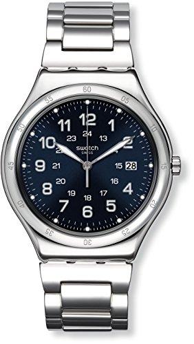 Swatch Digital Quarz mit Edelstahlarmband YWS420G