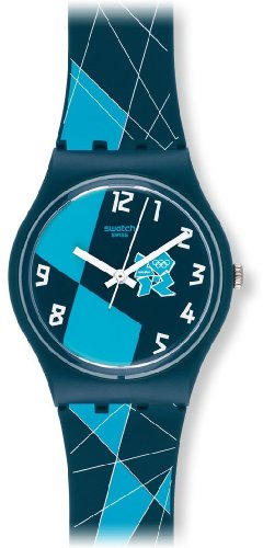 Swatch Jungen Armbanduhr Analog Plastik GZ267