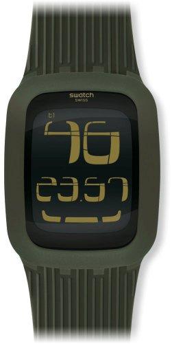 Swatch Quarzuhr Unisex Swatch Touch Olive 39 mm
