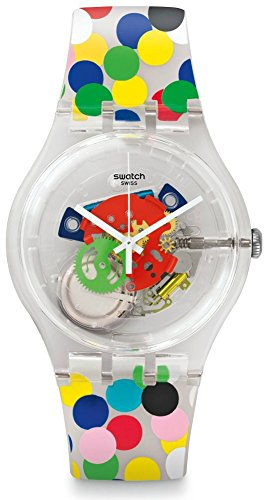Watch Swatch New Gent SUOZ213 SPOT THE DOT Limited Special Edition Alessandro Mendini