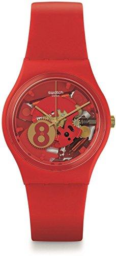 Swatch Unisex Armbanduhr Eight for Luck Analog Quarz GR166