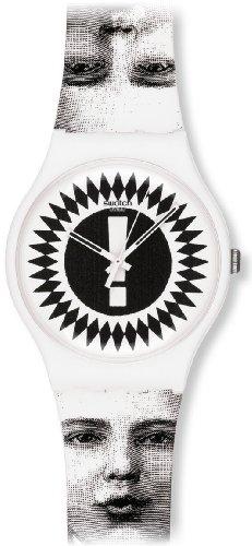 Swatch Unisex Armbanduhr Analog Plastik SUOZ125