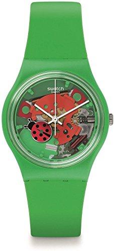 Swatch Unisex Armbanduhr Choupette Analog Quarz GG220
