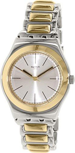 Swatch Bronzilla Herren Armbanduhr Silber