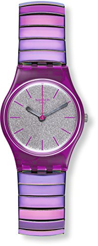 Watch Swatch Lady LP144A FLEXIPINK L Large Size