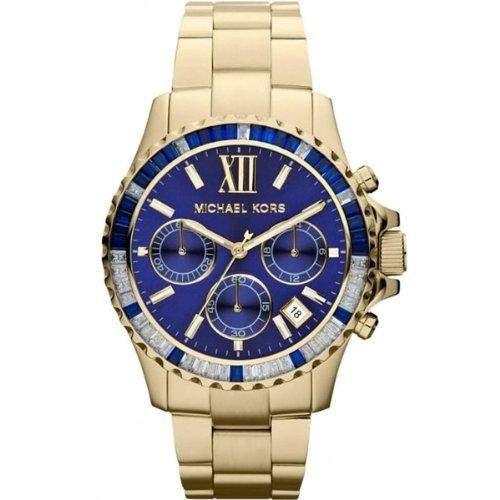 Michael Kors Damen-Armbanduhr Chronograph Quarz Edelstahl MK5754