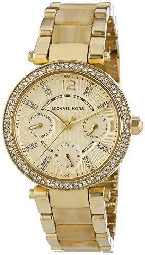 Micheal Kors Damen-Armbanduhr Chronograph Quarz Edelstahl MK5842