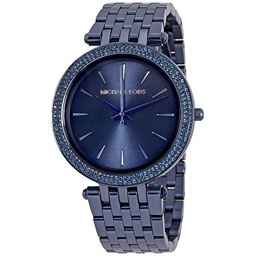 Michael Kors Damen Armbanduhr Analog Quarz One Size blau blau