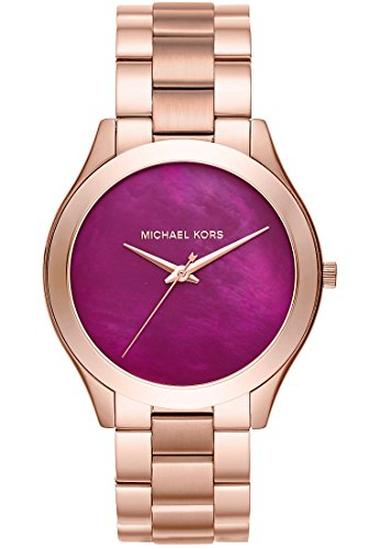 Michael Kors Analog Quarz One Size rot rose rot