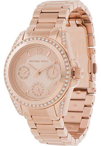 Michael Kors Damen Armbanduhr Analog Quarz One Size rosa rose