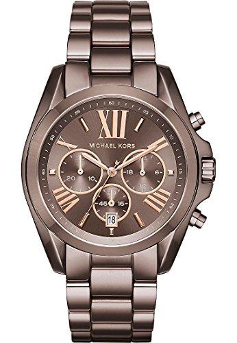 Michael Kors Damen Armbanduhr Analog Quarz One Size schwarz gold