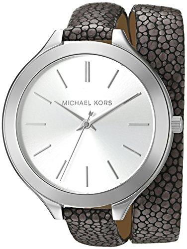 Michael Kors Damen Armbanduhr Analog Quarz One Size silber grau