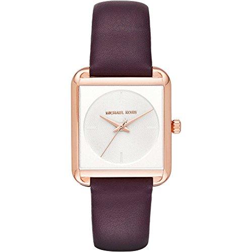 Michael Kors Damen Armbanduhr Analog Quarz One Size weiss violett