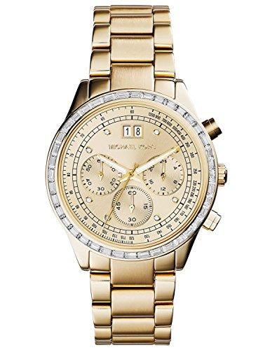 Micheal Kors Damen Armbanduhr Analog Quarz Edelstahl MK6187 1
