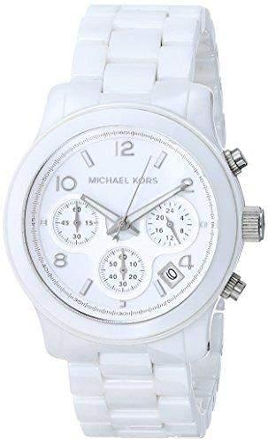 Michael Kors Damen-Armbanduhr Chronograph Quarz Keramik MK5161
