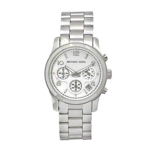 Michael Kors Damen-Armbanduhr Fashion Chronograph Quarz Edelstahl MK5304