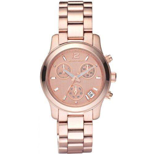 Michael Kors Damen-Armbanduhr XS Chronograph Quarz Edelstahl MK5430