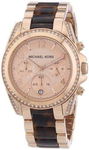 Micheal Kors Damen-Armbanduhr Chronograph Quarz Edelstahl MK5859