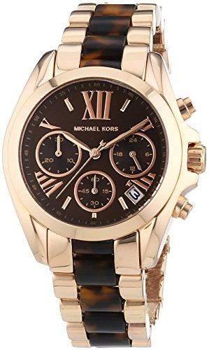 Michael Kors Damen-Armbanduhr Chronograph Quarz verschiedene Materialien MK5944