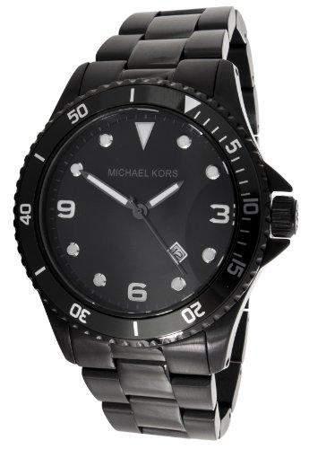 Micheal Kors Damen-Armbanduhr XL Chronograph Quarz Edelstahl beschichtet MK7057