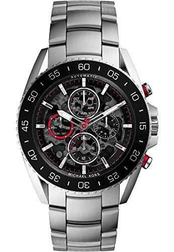 Micheal Kors Herren-Armbanduhr Analog Automatik Edelstahl MK9011