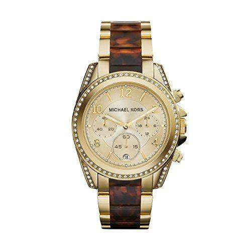 Micheal Kors Damen-Armbanduhr Chronograph Quarz Edelstahl MK6094