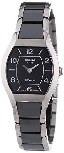 Boccia Damen-Armbanduhr XS Analog Quarz Keramik 3218-02
