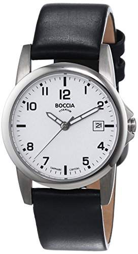 Boccia Damen-Armbanduhr XS Analog Quarz Leder 3080-01