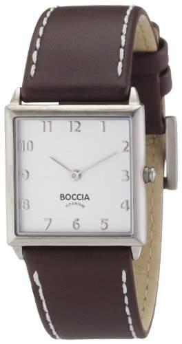 Boccia Damen-Armbanduhr XS Analog Quarz Leder 3115-05