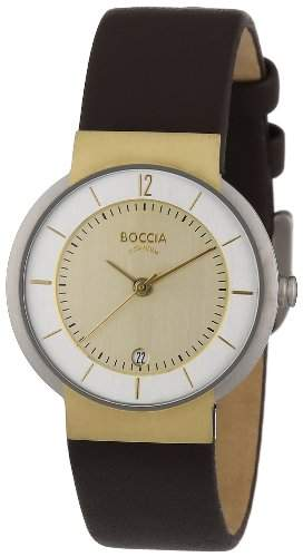 Boccia Damen-Armbanduhr Leder 3123-07
