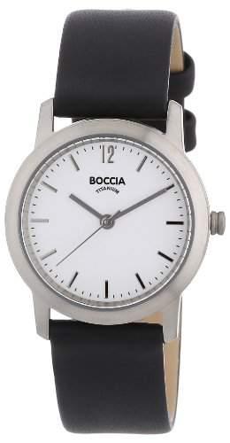 Boccia Damen-Armbanduhr Leder 3170-03
