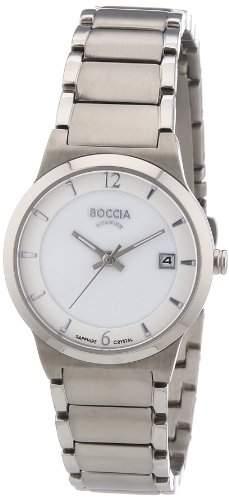 Boccia Damen-Armbanduhr XS Analog Quarz Titan 3223-01