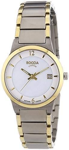 Boccia Damen-Armbanduhr XS Analog Quarz Titan 3223-02