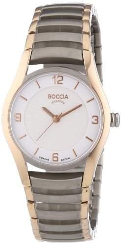 Boccia Damen-Armbanduhr XS Analog Quarz Titan 3229-03