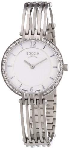 Boccia Damen-Armbanduhr XS Analog Quarz Titan 3230-01
