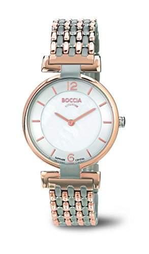 Boccia Damen-Armbanduhr XS Analog Quarz Titan 3238-05