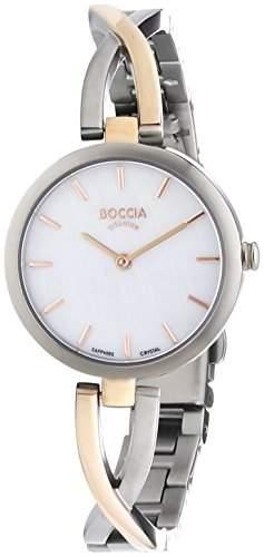 Boccia Damen-Armbanduhr XS Analog Quarz Titan 3239-02