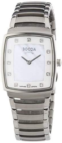 Boccia Damen-Armbanduhr Analog Quarz Titan 3241-01