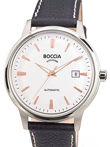 3586 03 Herren Boccia Titan Automatik Uhr