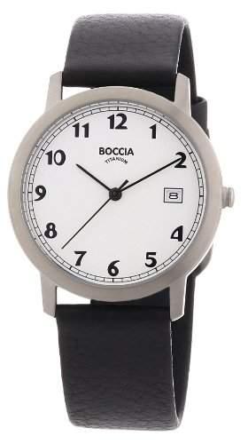 Boccia Herren-Armbanduhr Leder 510-95