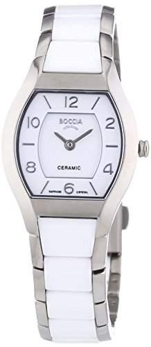 Boccia Damen-Armbanduhr XS Analog Quarz Keramik 3218-01