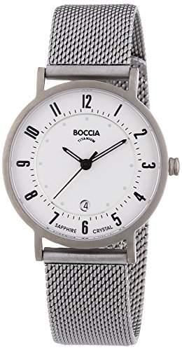 Boccia Damen-Armbanduhr XS Analog Quarz Titan 3154-07