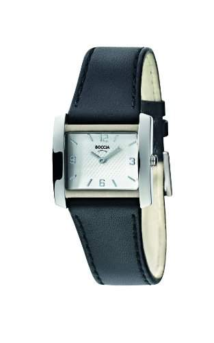 Boccia Damen-Armbanduhr Leder 3155-01