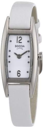 Boccia Damen-Armbanduhr Leder 3162-01