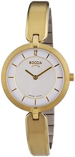 Boccia Damen-Armbanduhr XS Analog Quarz Titan 3164-05