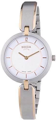 Boccia Damen-Armbanduhr XS Analog Quarz Titan 3164-06
