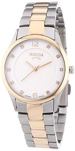 Boccia Damen-Armbanduhr XS Analog Quarz Titan 3227-04